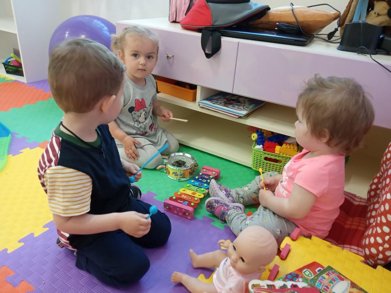 Минисадик для детей от 1,5 лет